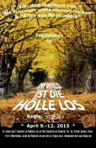 Poster: Im Wald ist die Hölle los